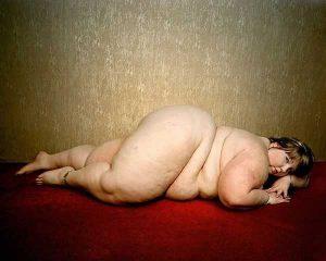 Жирная девушка