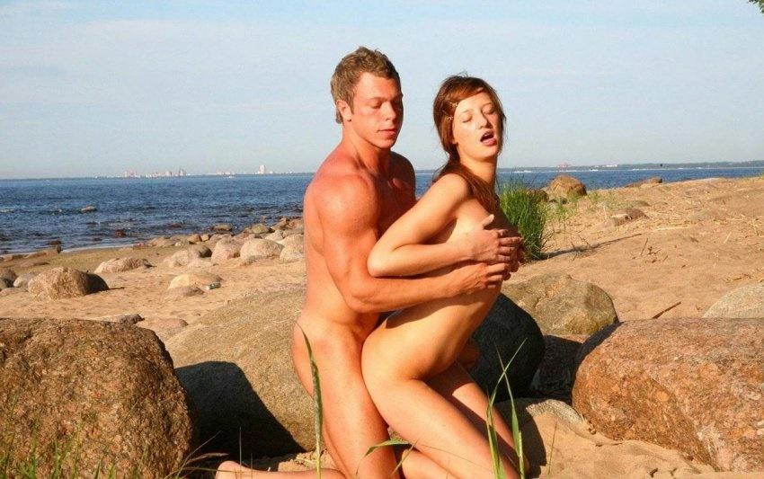 Секс нудистов фото 9