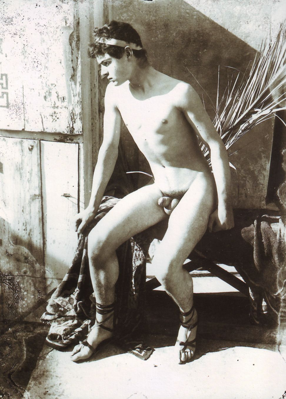 Babes naked boy with chaps black