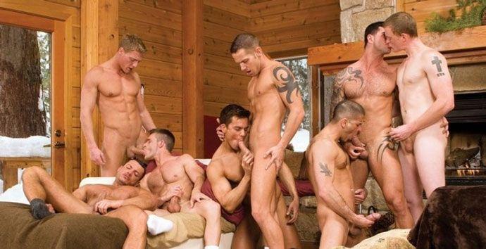 Порно фото геев 12