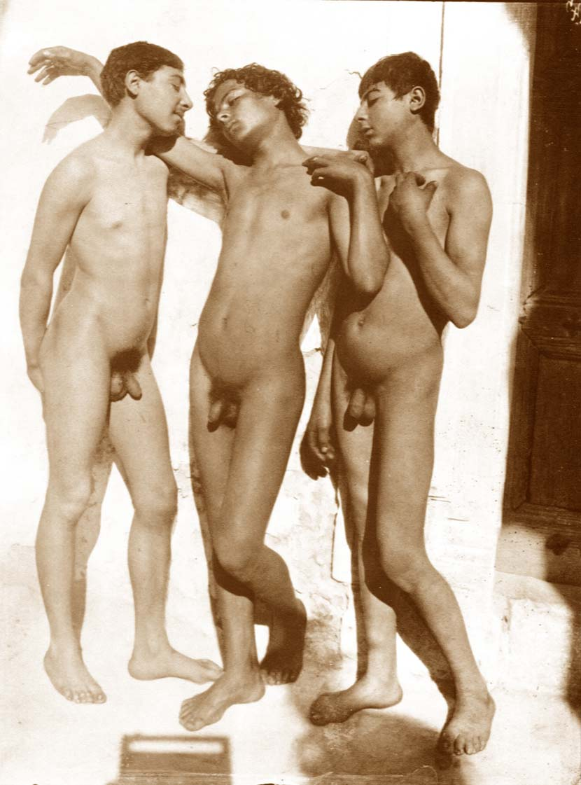 Старинные фото юношей и парней фотография №2