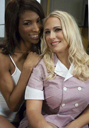 Транс и белая подруга