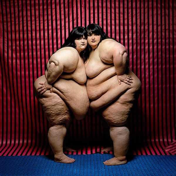 Толстые и очень жирные сёстры